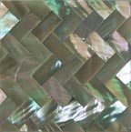abalone weave tile