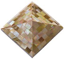 brownlip pyramid tile