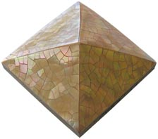 brownlip cracking pyramid tile