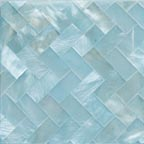 ice blue satin weave tile
