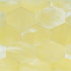 straw satin hex tile